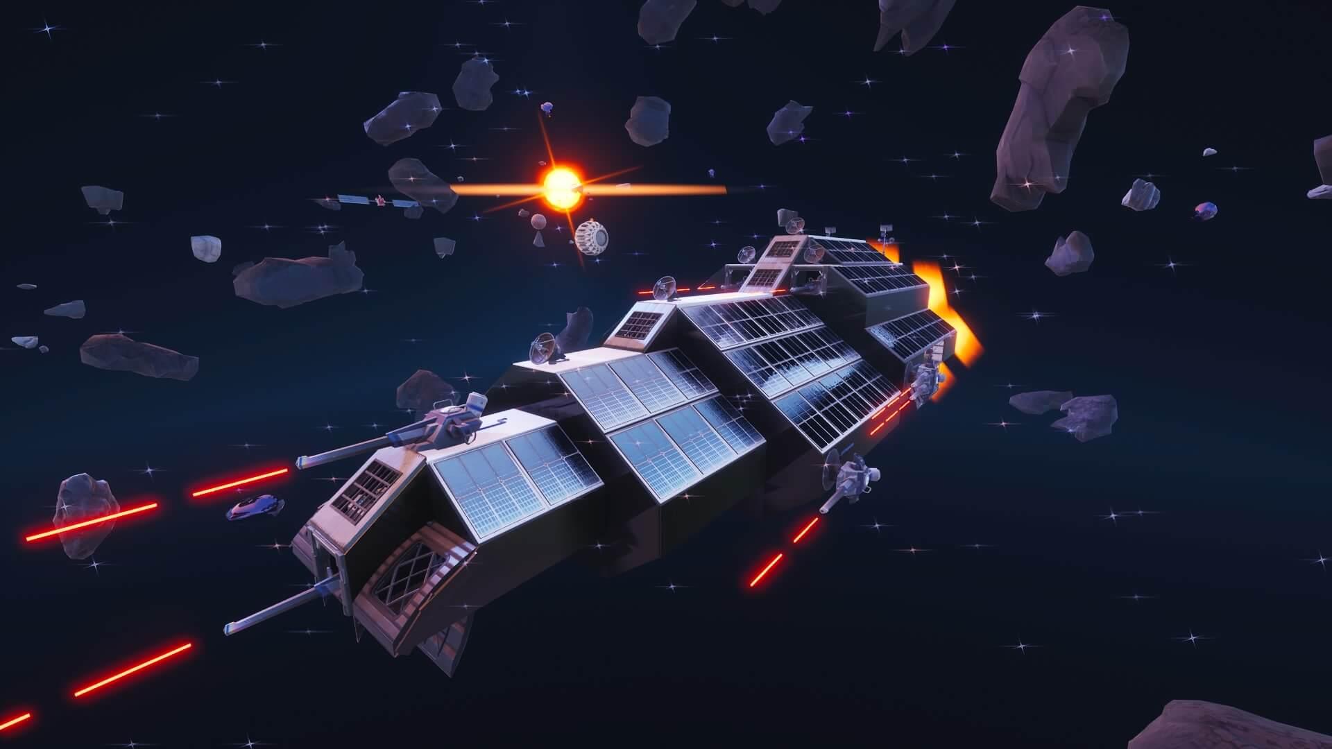 SPACE.EXE - Fortnite Creative Codes - Dropnite.com